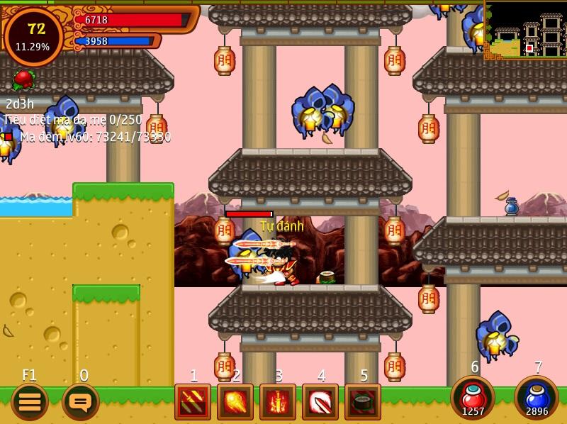 game ninja school online cho android